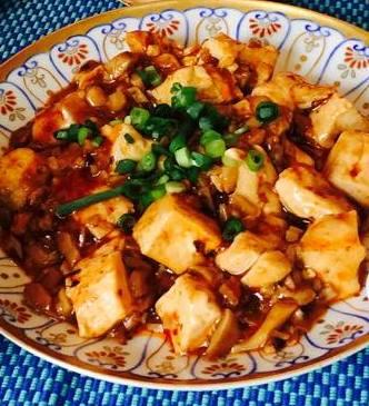 ベジタリアン麻婆豆腐の写真です
